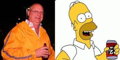 Chuck Muth Homer Simpson